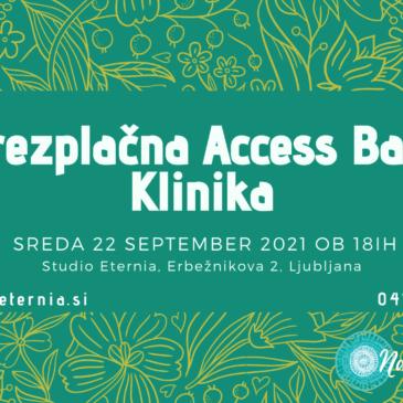 Brezplačna access bars klinika